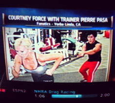Pierre Pasa trains Courtney Force